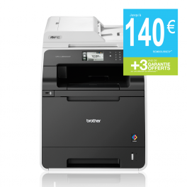 Brother - MFC-L8650CDW - Imprimante multifonctions (Impression - copie - scan - fax) laser - couleur - A4 - recto verso - wifi