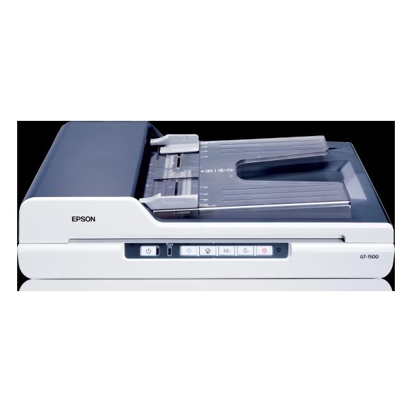 epson gt 1500 scanner de bureau plat avec chargeur. Black Bedroom Furniture Sets. Home Design Ideas