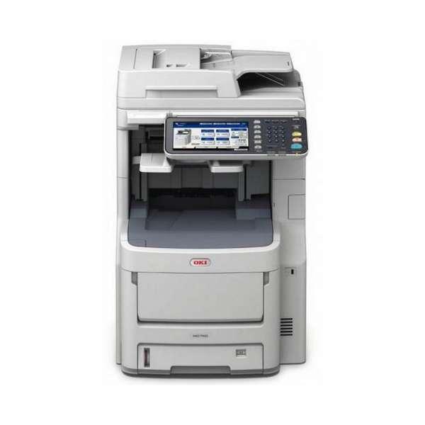 oki mc780dfnfax imprimante multifonctions impression copieur scanner fax laser. Black Bedroom Furniture Sets. Home Design Ideas