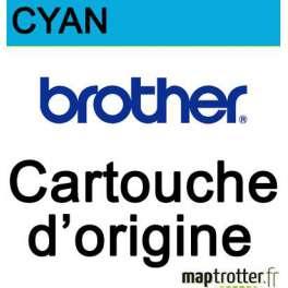Brother - LC-221C - Cartouche d'encre cyan - produit d'origine - 260 pages