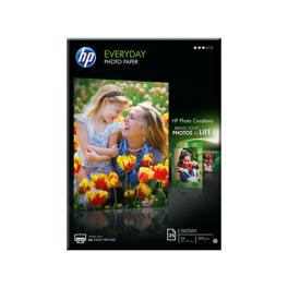HP - Q5451A -  everyday photo paper - papier -brillant - A4 (210 x 297 mm) - 200 g/m2 - 25 feuilles