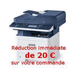 Xerox - Workcentre 3345V_DNI - Bon de réduction immédiat de 20 € - Gagnez 500 points cadeaux Xerox*, Imprimante multifonction (Impression - copie - scanner - fax) laser - noir et blanc - A4 - recto verso - réseau - wifi - 40 ppm