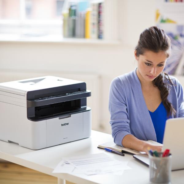 brother mfc1910w imprimante multifonctions impression copie scan fax laser noir et. Black Bedroom Furniture Sets. Home Design Ideas