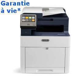 Xerox - Workcentre 6515V_DNI - Garantie à vie* - Gagnez 500 points cadeaux Xerox* - Multifonction, laser, couleur, A4, rv, réseau, wifi, 28 ppm -livrée avec 4 toners (1500 pages nb, 1000 cl)