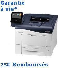 Xerox - VersaLink C400V_DN - 75€ remboursés - garantie à vie* Gagnez 5000 points cadeaux Xerox*  Imprimante couleur - A4 - recto verso - réseau - 35 ppm - Garantie 1 an sur site - Calcul du coût d'impression - Port et batterie de téléphone offert