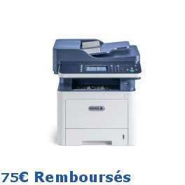 Xerox - Workcentre 3345V_DNI - 75€ remboursés par Xerox - Gagnez 500 points cadeaux Xerox*, Imprimante multifonction (Impression - copie - scanner - fax) laser - noir et blanc - A4 - recto verso - réseau - wifi - 40 ppm - Port et batterie de téléphon