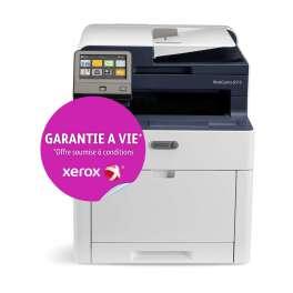 Xerox - Workcentre 6515V_DNI - Garantie à vie* et 75 Euros remboursés avec l'achat d'un pack CNJM - Frais de port offert - Multifonction, laser, couleur, A4, rv, réseau, wifi, livrée avec 4 toners de démarrage (1500 pages nb, 1000 cl) - 28 ppm
