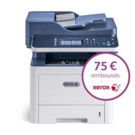 Xerox - Workcentre 3345V_DNI - 75 Euros remboursés par Xerox - Gagnez 500 points cadeaux Xerox*, Multifonction (Impression - copie - scanner recto verso - fax) laser - noir et blanc - A4 - recto verso - réseau - wifi - 40 ppm