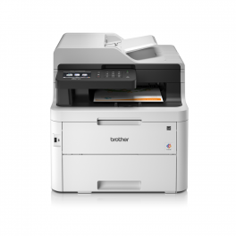 Brother - MFC-L3750CDW - Imprimante multifonctions (impression, copie, scan, fax) laser, couleur, A4, chargeur ADF -  recto verso, wifi - 24 ppm