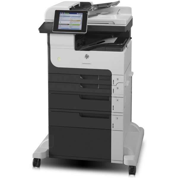 hp laserjet enterprise m725f imprimante multifonctions impression copie scanner fax. Black Bedroom Furniture Sets. Home Design Ideas