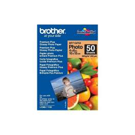 Brother - BP71GP50  - Papier photo brillant - 100 x 150 mm - 50 feuille(s)