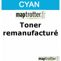 TN-230C - Toner Maptrotter pour Brother - encre ISO/IEC 19752 - cyan - 1 400 pages - fabriqu� en Allemagne - R�f�rence : RE19011125