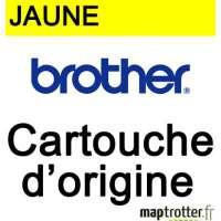 Brother - LC-970Y - Cartouche d�encre jaune-  produit d'origine - 300 pages