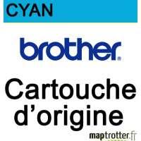 Brother - LC-980C - Cartouche d'encre cyan-  produit d'origine - 260 pages