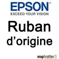 Epson - C13S015637 - Ruban - noir - produit d'origine