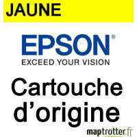 Epson - 18 - T1804 - Cartouche d'encre jaune - produit d'origine - s�rie paquerette - 180 pages - C13T18044010