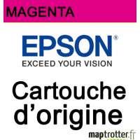 Epson - 18 - T1803 - Cartouche d'encre magenta - produit d'origine - s�rie paquerette - 180 pages - C13T18034010