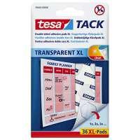 Tesa - Blister de 36 pastilles adh�sives Tack XL.Double-face r�utilisable/repositionnable. Objets l�gers. - 59404
