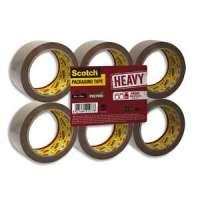 Scotch - Ruban d'emballage Heavy en PP 57 microns - Dimensions : H50 mm x L66 m�tres havane BP975 - BP975