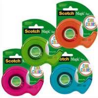 Scotch - D�vidoirs Scotch� Colors 19mmx19M. Assortis : vert - BP964