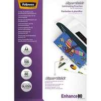 FELLOWES Pack de 100 pochettes SuperQuick A4�80 microns 5440001 - 5440001