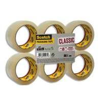 Scotch - Ruban d'emballage Classic en PP 41 microns - Dimensions : H50 mm x L66 m�tres transparent BP973 - BP973