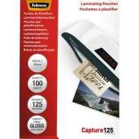 FELLOWES Pack de 100 pochettes Imagelast 125 microns 64x95mm 5306702 - 5306702