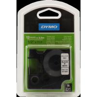 DYMO - S0718040 - DYMO - Ruban en nylon flexible - noir sur blanc - Roll (1.2 cm x 3.5 m) - 1 rouleau(x)