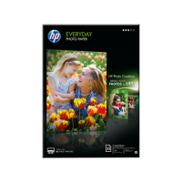 HP - Q5451A - Hp everyday photo paper - papier - papier semi-brillant - a4 (210 x 297 mm) - 200 g/m2 - 25 feuilles