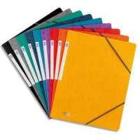 Elba Gmbh - 100200262 - ELBA Chemise simple � �lastique Topfile , en carte lustr�e 5/10e coloris assortis