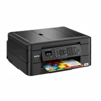 Brother - MFC-J480DW - Imprimante multifonction (Impression, copie, scan, fax) jet d'encre - couleur - A4 - recto verso - wifi - 12 ppm - Garantie : 2 ans retour atelier