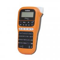 Brother - PT-E110VP - Etiqueteuse - portable pour les �lectriciens � Livr�e avec mallette de transport et adaptateur secteur