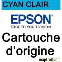 Epson - 378 - Cartouche d'encre cyan clair - produit d'origine- 4.8ml - C13T37854020 - s�rie �cureuil