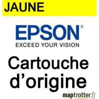 Epson - 16 - T1624 - Cartouche d'encre jaune - produit d'origine- s�rie plume - 165 pages - C13T16244010
