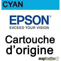 Epson - 502 - Cartouche d'encre - cyan - s�rie jumelles - 3.3ml - C13T02V24010