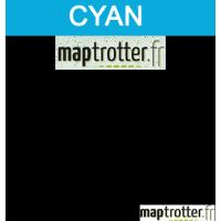TK-5135C - Toner Maptrotter pour Kyocera - encre ISO/IEC 19752 - cyan - 5 000 pages - fabriqu� en Allemagne - R�f�rence : RE19011019