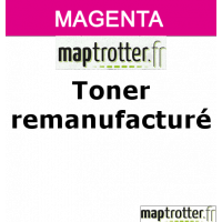 716 M - 1978B002 - Toner remanufactur� Maptrotter pour Canon - magenta - 1 500 pages - certification ISO/IEC 19752 - fabriqu� en Allemagne - R�f�rence : RE19031975