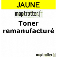 707Y - 9421A004 - Toner remanufactur� Maptrotter pour Canon - jaune - 2 000 pages - certification ISO/IEC 19752 - fabriqu� en Allemagne - R�f�rence : RE15040901
