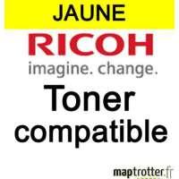 Ricoh - MPC400E/841553 - Toner compatible - jaune