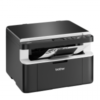 Brother - DCP1612W - Imprimante multifonction (Impression - copie - scan) laser - noir et blanc - A4 - wifi - 20 ppm - Garantie