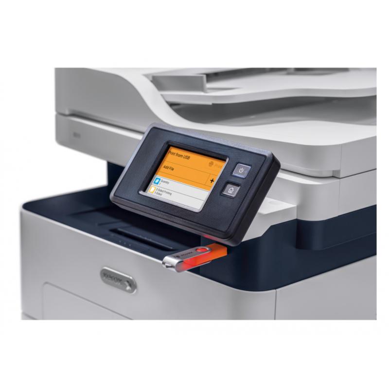 Xerox - B215 - Multifonctions, Impression, Copie, Scan, Fax, Laser, Noir et blanc, A4,  Recto Verso uniquement en impression,  C