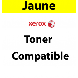 106R03692 - Toner jaune Maptrotter compatible Xerox - 4 300 pages