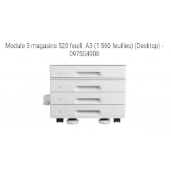 Xerox - 097S04908 - Module à trois magasins de 520 feuilles chacun (total 1 560 feuilles)