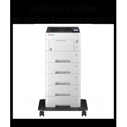 Kyocera - ECOSYS P3150DN, Imprimante noir et blanc, A4, recto verso, réseau, 50 ppm
