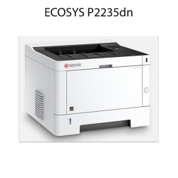 Kyocera - ECOSYS P2235dn - Imprimante - laser - noir et blanc - A4 - recto verso - réseau - 35 ppm