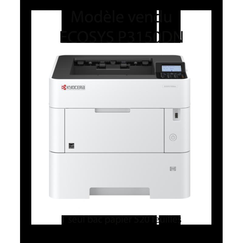 Kyocera - ECOSYS P3150dn/KL3 - Imprimante noir et blanc, A4, recto verso, réseau, 50 ppm avec 3 ans de garantie