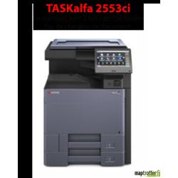 Kyocera - TASKalfa 2553ci - Multifonctions (impression, copie, scan) laser - couleur - A3,  écran tactile - chargeur en option -