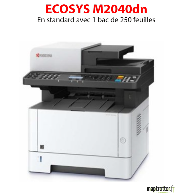 Kyocera - ECOSYS M2040dn - Multifonctions (impression, copie, scan) laser - noir et blanc - A4 - recto verso en impression, copi