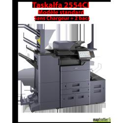Kyocera - TASKalfa 2554ci - Multifonctions (impression, copie, scan) laser - couleur - A3, écran tactile - 2 bacs de 500 feuille