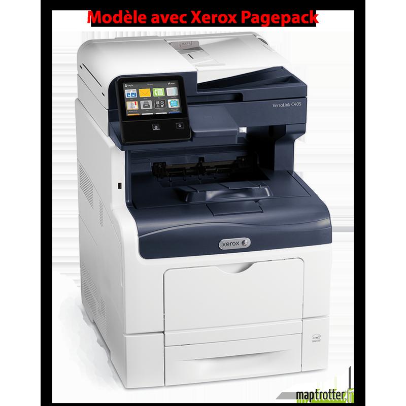Xerox - Versalink C405V/ZPM - Xerox Pagepack - Multifonction, Impression, copie, scanner, fax, couleur, A4, recto verso en impre